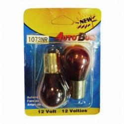 BOMB 1073 12V 1156 BA15S ROJO NATURAL 1C BLIST 2U