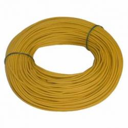 CABLE INST/12 100MTS AMARILLO