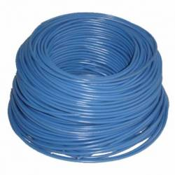 CABLE INST/12 100MTS AZUL