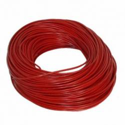 CABLE INST/14 100MTS ROJO