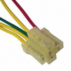 CONECTOR RELAY 4-5 PTAS UNIV TRANSPARENTE IMPORTADO 5C
