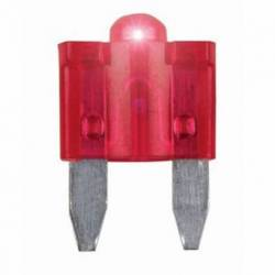 FUSIBLE MINI MODERNO 10A ATN TIPO MUELA C-LED ROJO