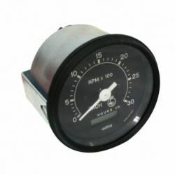 RELOJ TACOMETRO PROG. 12/24V 85MM 0-300 RPM TRABAJA CON ALT