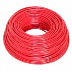 CABLE INST/10 100MTS ROJO
