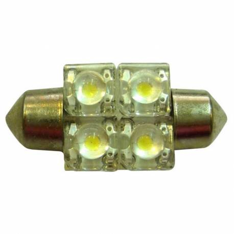 BOMB TECHO LED 24V SV8.5 10X44 4LED AZUL BLIST 2