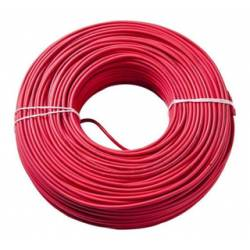 CABLE INST/10 20MTS ROJO
